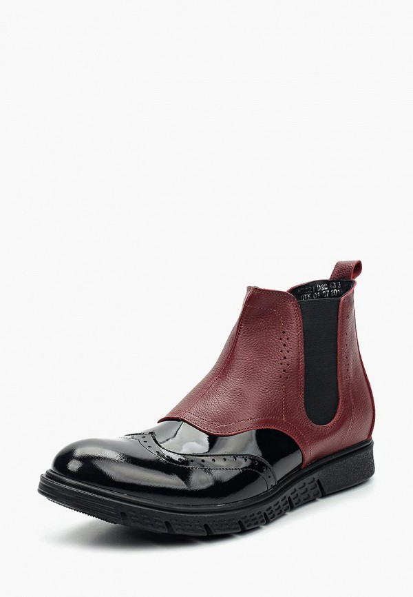 мужские ботинки matt nawill, бордовые