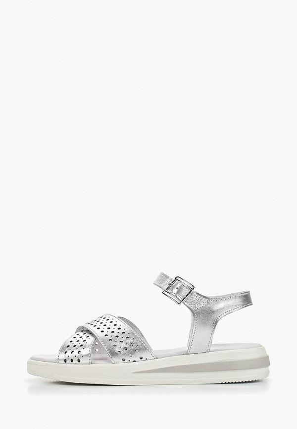 женские сандалии matt nawill, серебряные