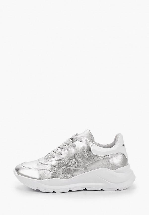 женские кроссовки matt nawill, серебряные