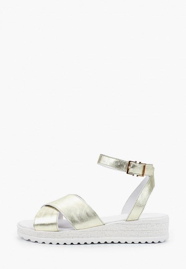 женские сандалии matt nawill, золотые