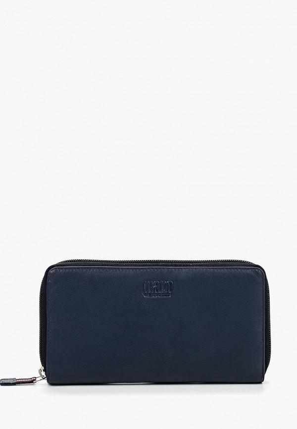 женский кошелёк mano, синий