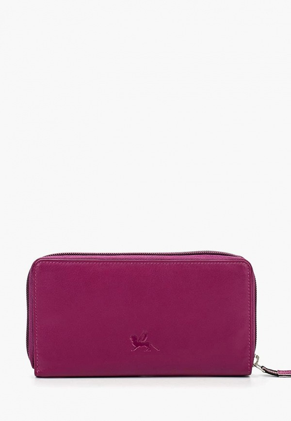 женский кошелёк mano, фиолетовый