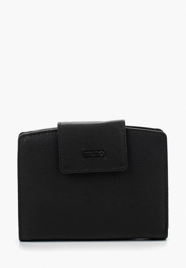 женский кошелёк mano, черный
