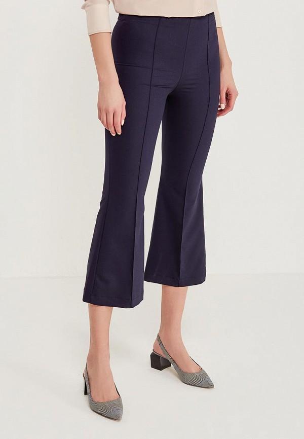 женские повседневные брюки massimiliano bini, синие