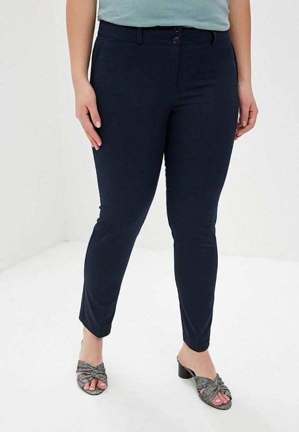женские классические брюки massimiliano bini, синие