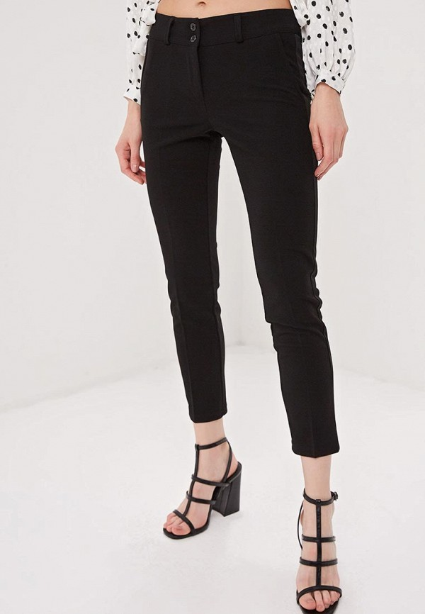 Фото - женские брюки Massimiliano Bini черного цвета