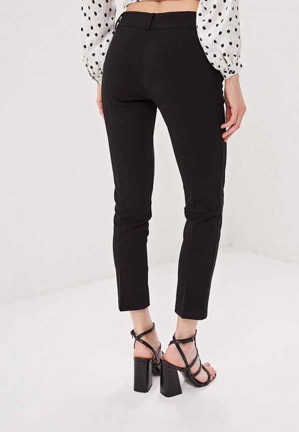 Фото 3 - женские брюки Massimiliano Bini черного цвета