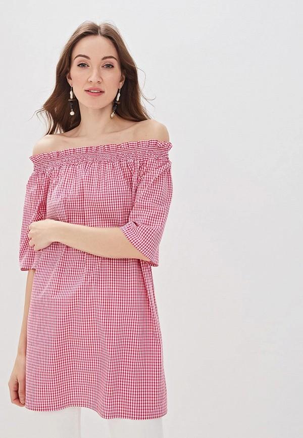 Купить Блуза Massimiliano Bini, ma093ewfelb4, розовый, Весна-лето 2019