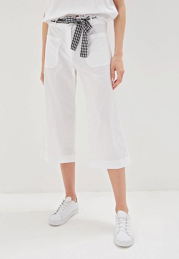 женские повседневные брюки massimiliano bini, белые