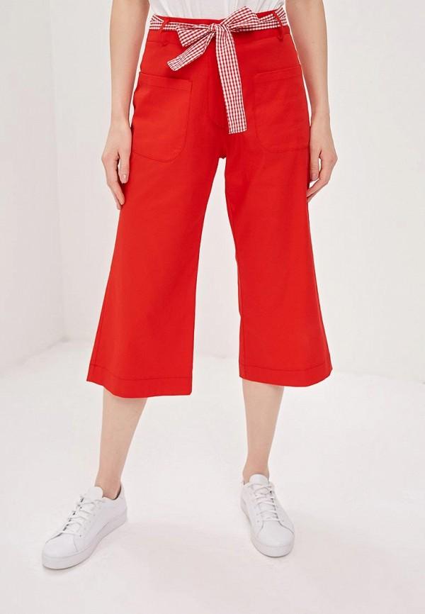 Фото - женские брюки Massimiliano Bini красного цвета