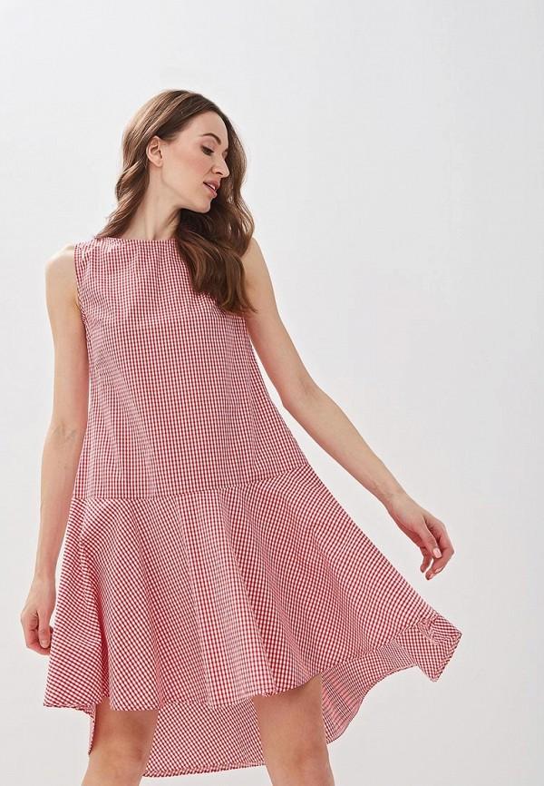 Фото - женское платье Massimiliano Bini красного цвета