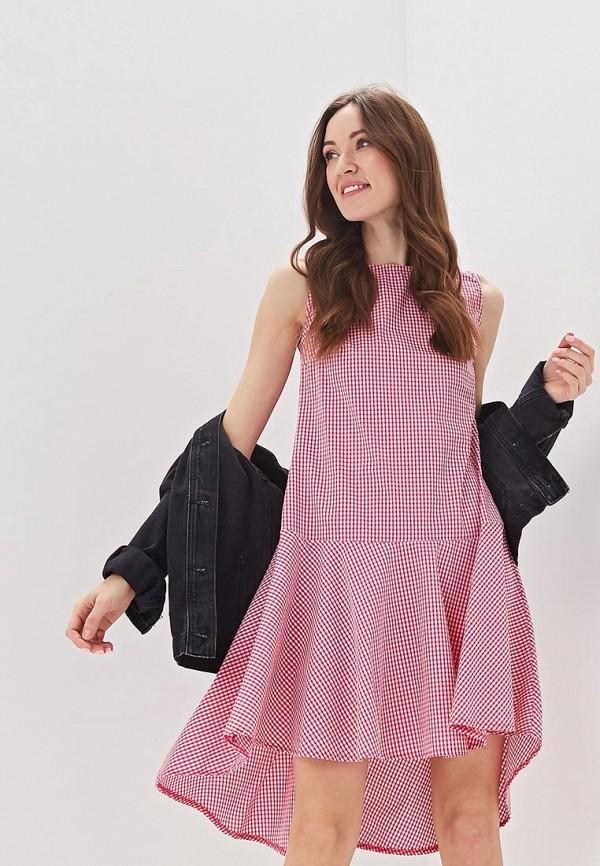 женское повседневные платье massimiliano bini, розовое