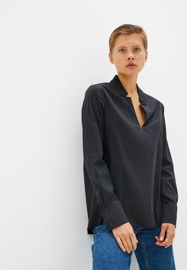 женская блузка massimiliano bini, черная