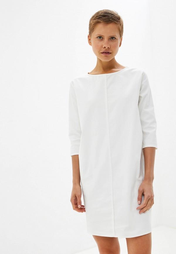 женское повседневные платье massimiliano bini, белое