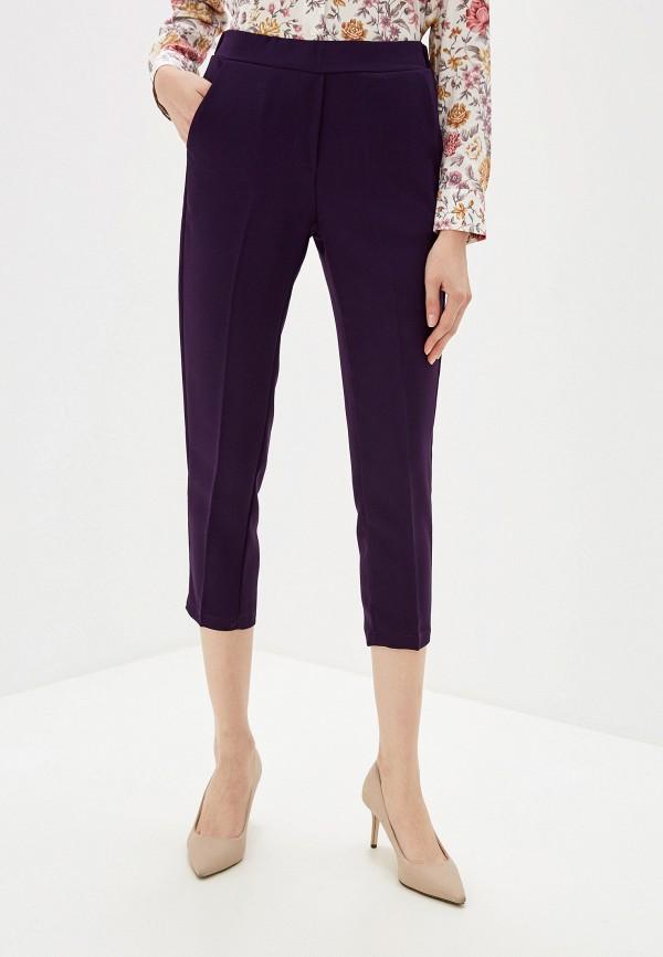 женские повседневные брюки massimiliano bini, фиолетовые