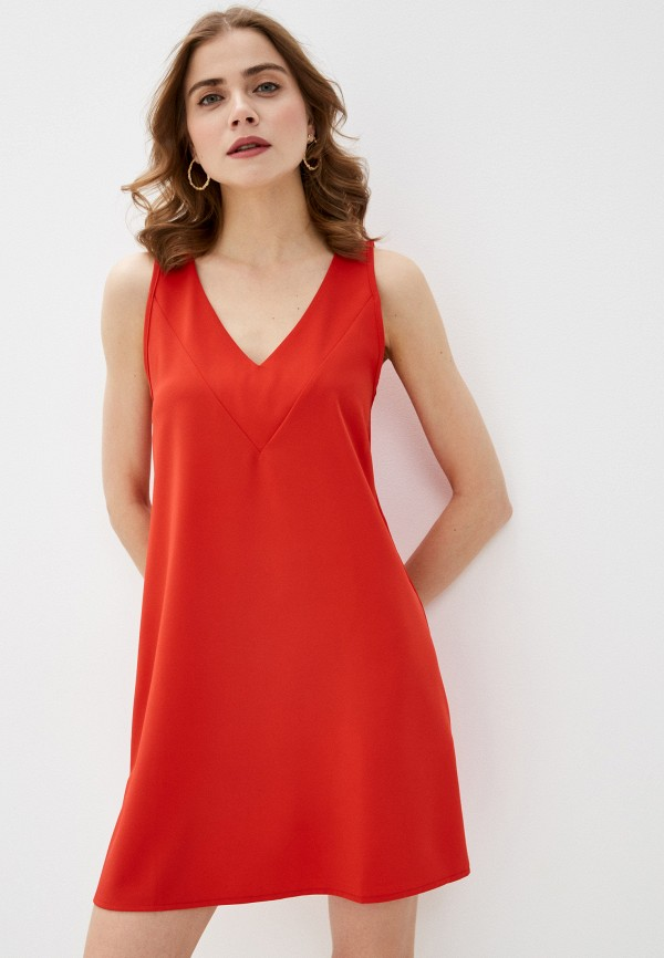 женское платье massimiliano bini, красное