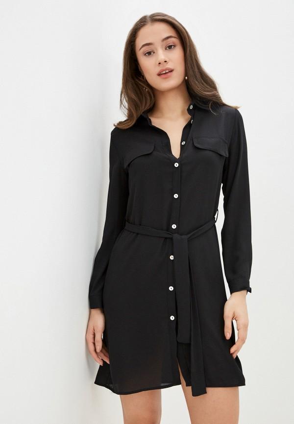женское платье massimiliano bini, черное