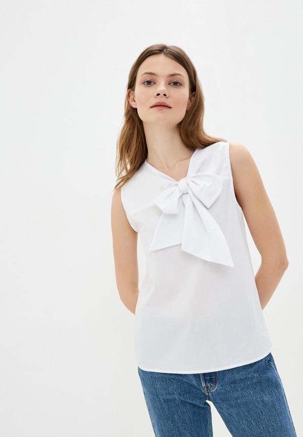 женская блузка massimiliano bini, белая