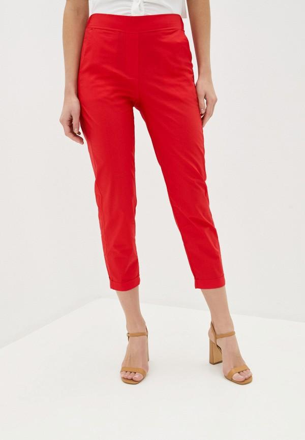 женские повседневные брюки massimiliano bini, красные