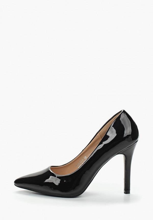 Фото 2 - женские туфли Max Shoes черного цвета