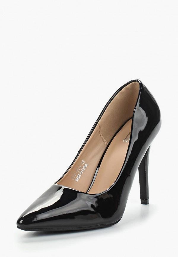 Фото 7 - женские туфли Max Shoes черного цвета