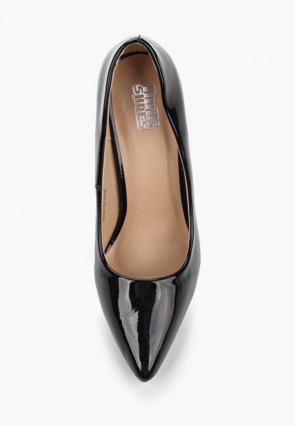 Фото 4 - женские туфли Max Shoes черного цвета