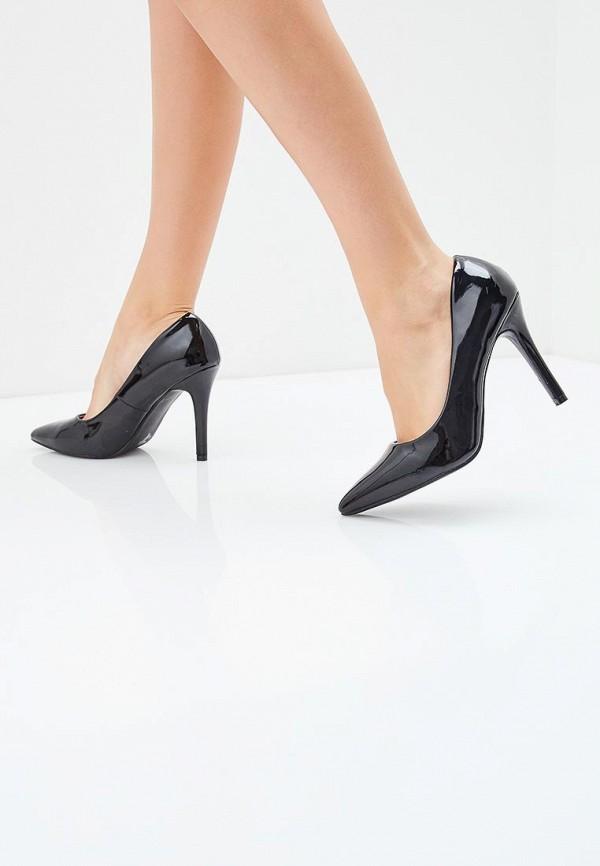 Фото 5 - женские туфли Max Shoes черного цвета