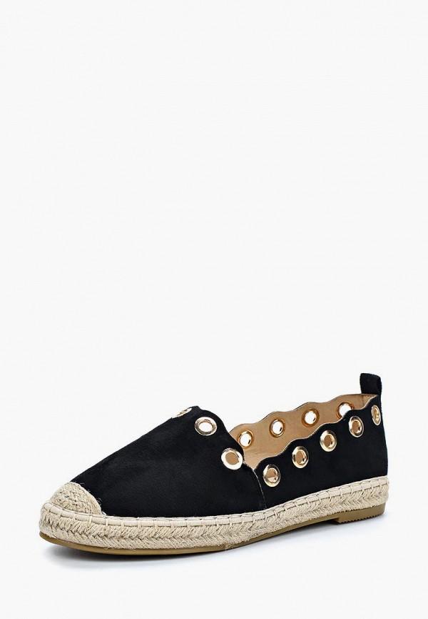 Купить Эспадрильи Max Shoes, MA095AWBEQG4, черный, Весна-лето 2018