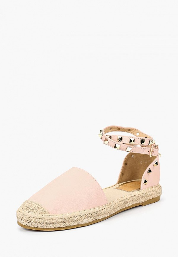 Купить Эспадрильи Max Shoes, ma095awbsru1, розовый, Весна-лето 2018
