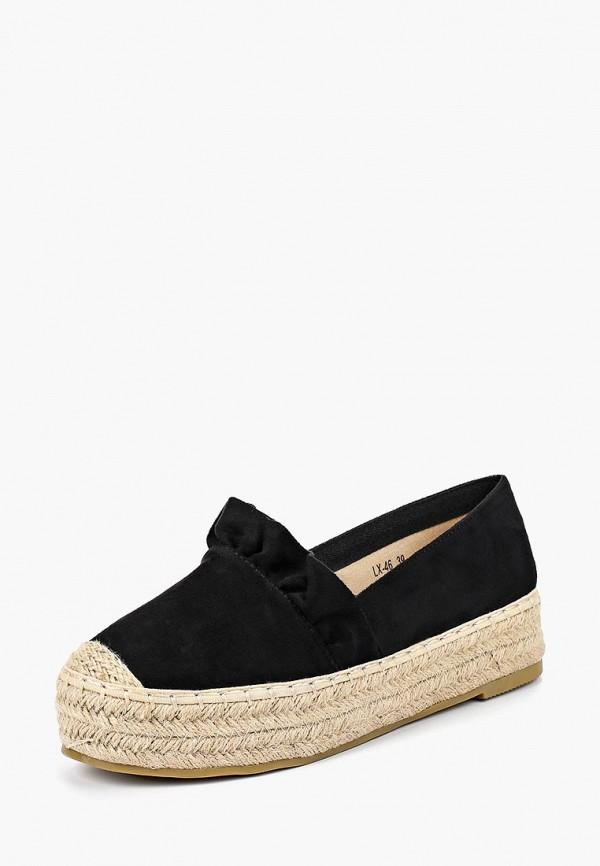 Купить Эспадрильи Max Shoes, MA095AWBSRU5, черный, Весна-лето 2018
