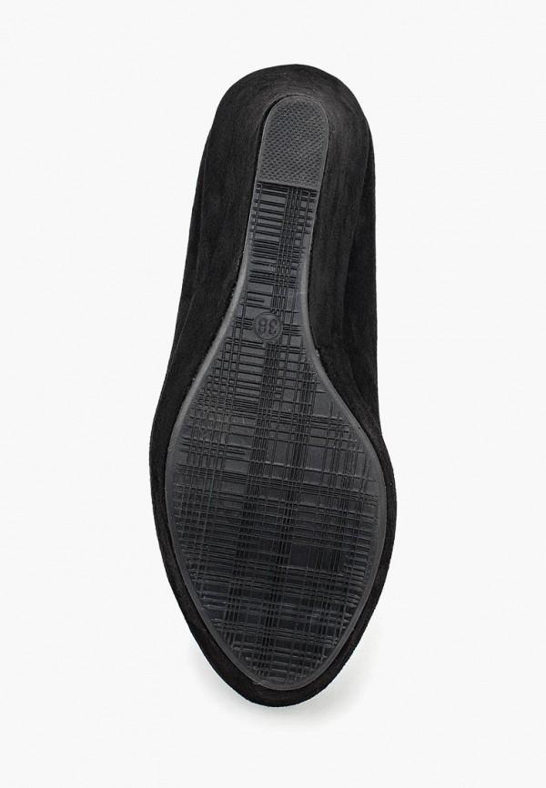Фото 3 - женские туфли Max Shoes черного цвета