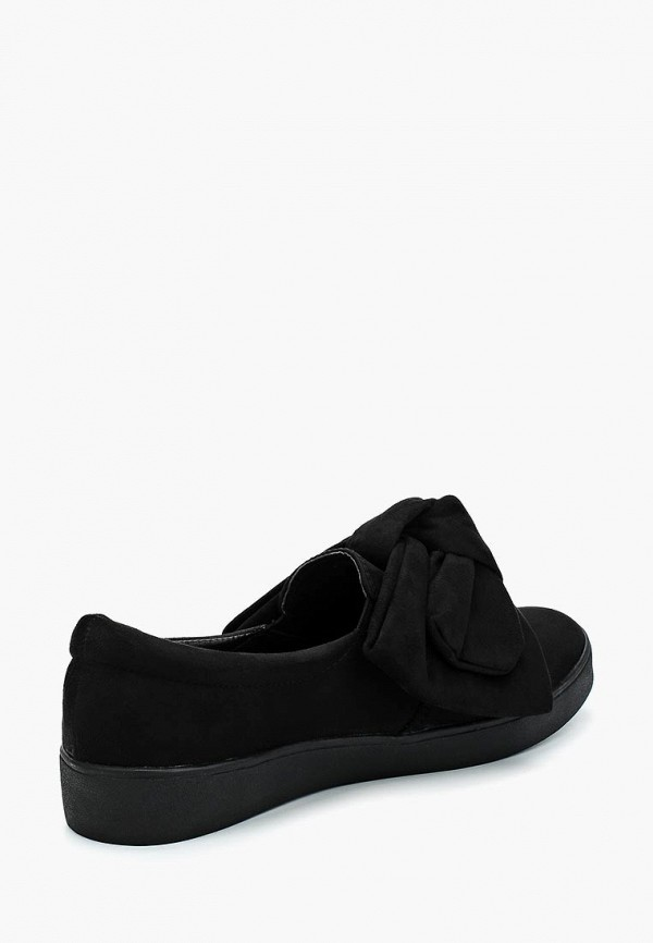Фото 2 - Слипоны Max Shoes черного цвета