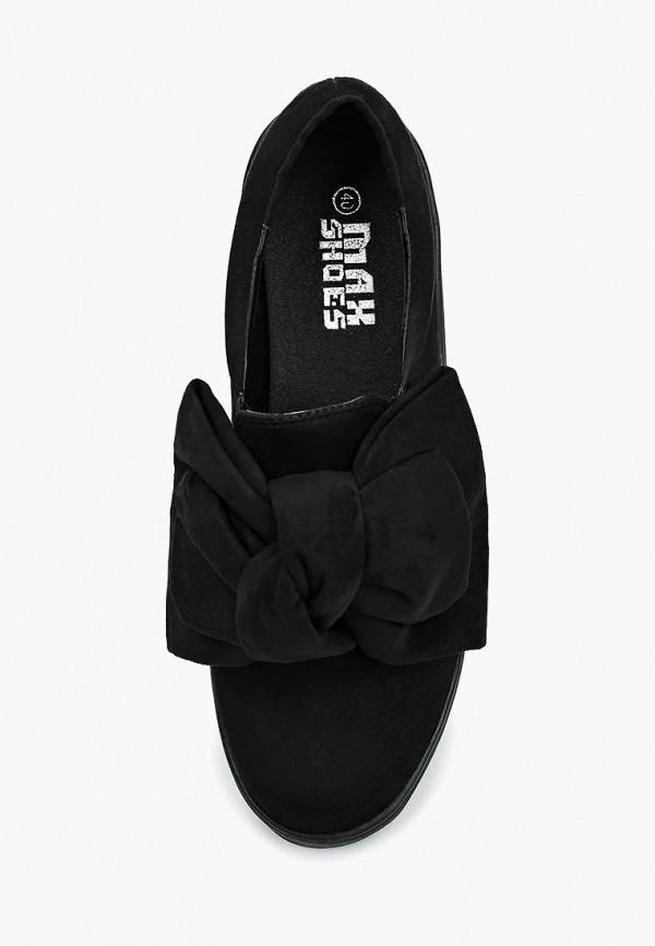 Фото 4 - Слипоны Max Shoes черного цвета