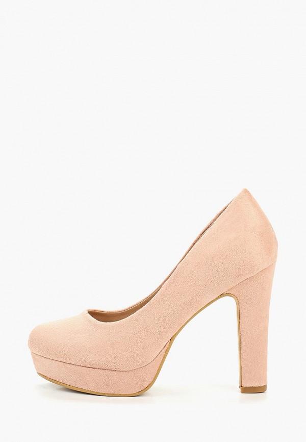 женские туфли malien, розовые