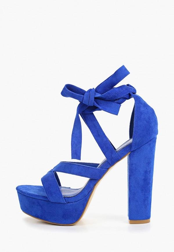 женские босоножки malien, синие