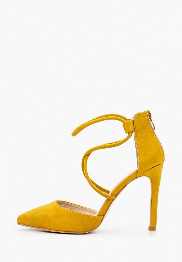 женские туфли malien, желтые