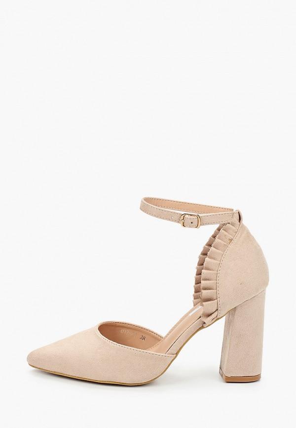 женские туфли malien, бежевые