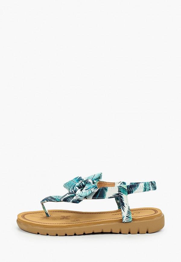 женские сандалии malien, бирюзовые