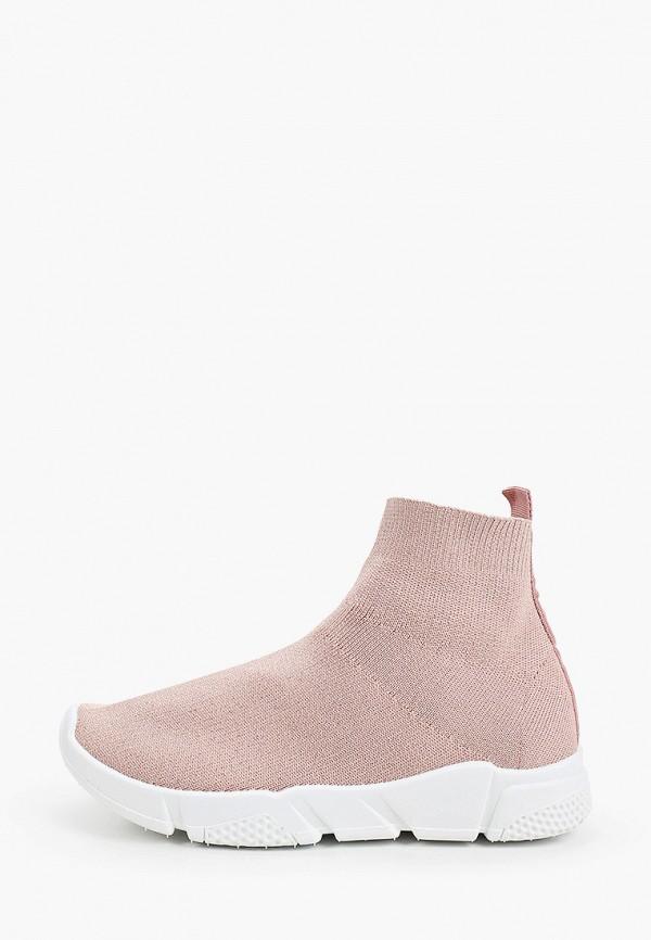 женские кроссовки malien, розовые