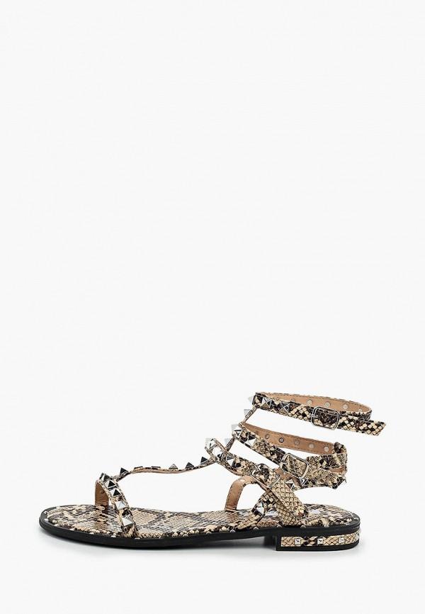 женские сандалии malien, бежевые