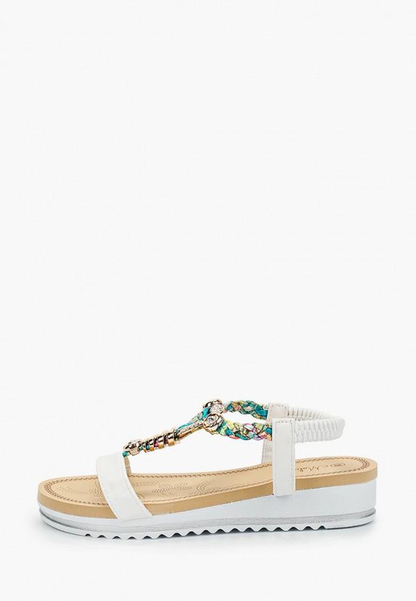 женские сандалии malien, белые