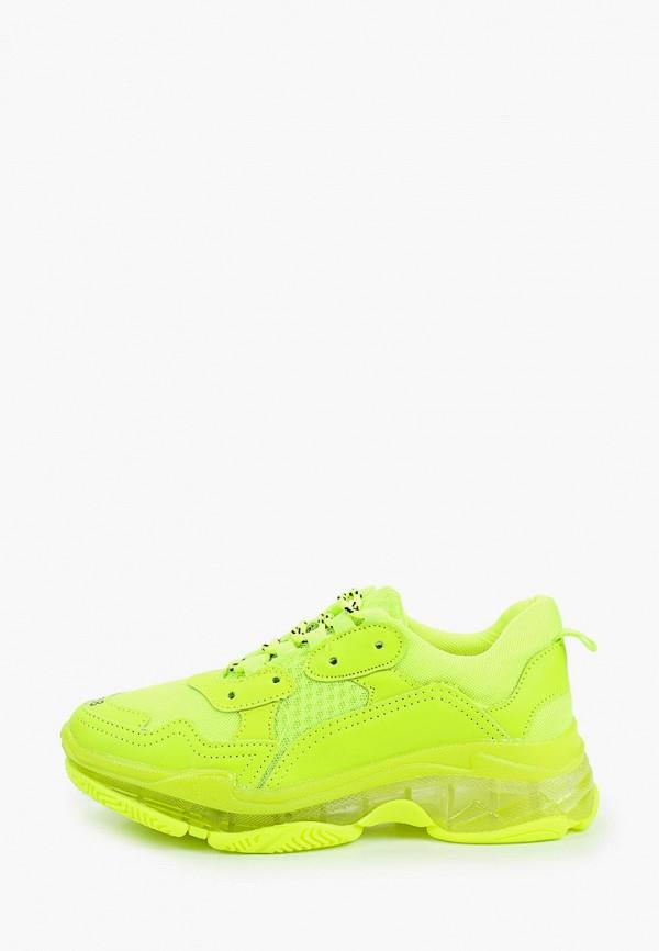 женские кроссовки malien, зеленые