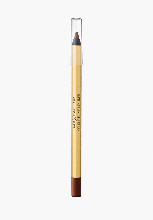 карандаш для губ max factor, коричневый