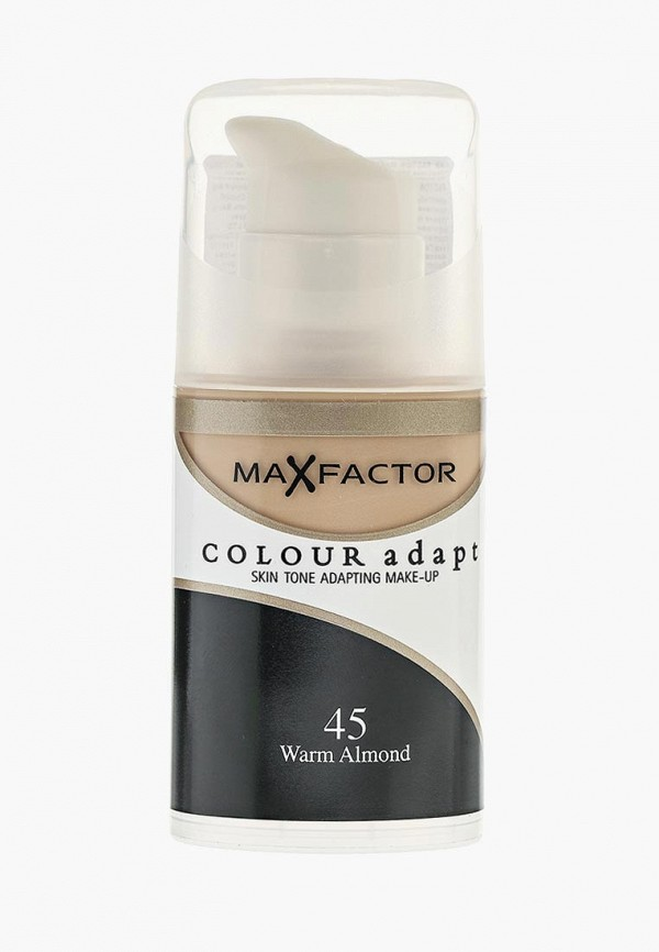 Купить Тональное средство Max Factor, Colour Adapt 45 тон, MA100LWFFP42, бежевый, Осень-зима 2018/2019