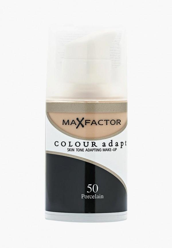 Купить Тональное средство Max Factor, Colour Adapt, 50 тон, MA100LWFFP43, бежевый, Осень-зима 2018/2019