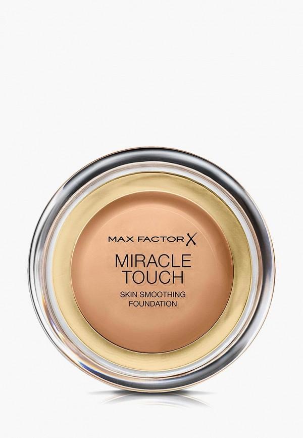 Купить Тональное средство Max Factor, Miracle Touch Тон 80 bronze, MA100LWLRT22, бежевый, Осень-зима 2018/2019