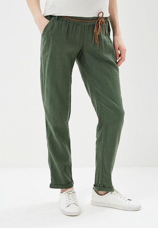 женские повседневные брюки mamalicious, хаки