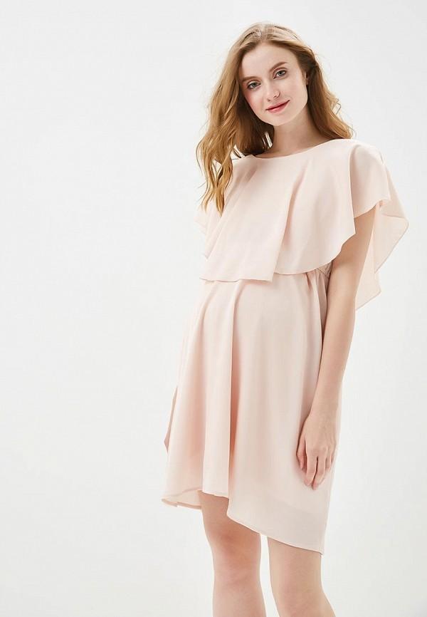 Купить Платье Mamalicious, ma101ewandl3, розовый, Весна-лето 2018