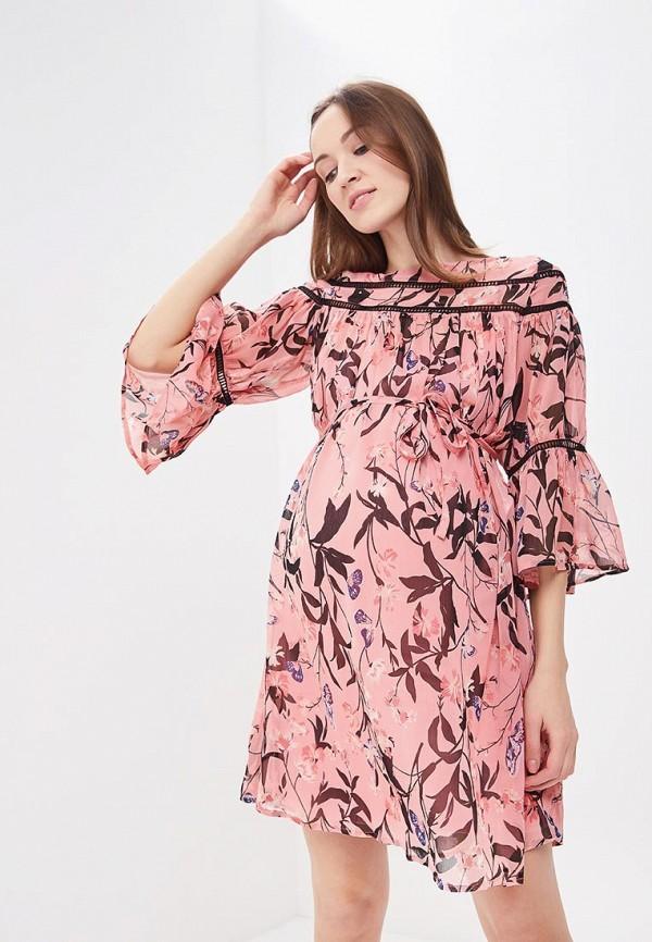 Купить Платье Mamalicious, ma101ewandm2, розовый, Весна-лето 2018