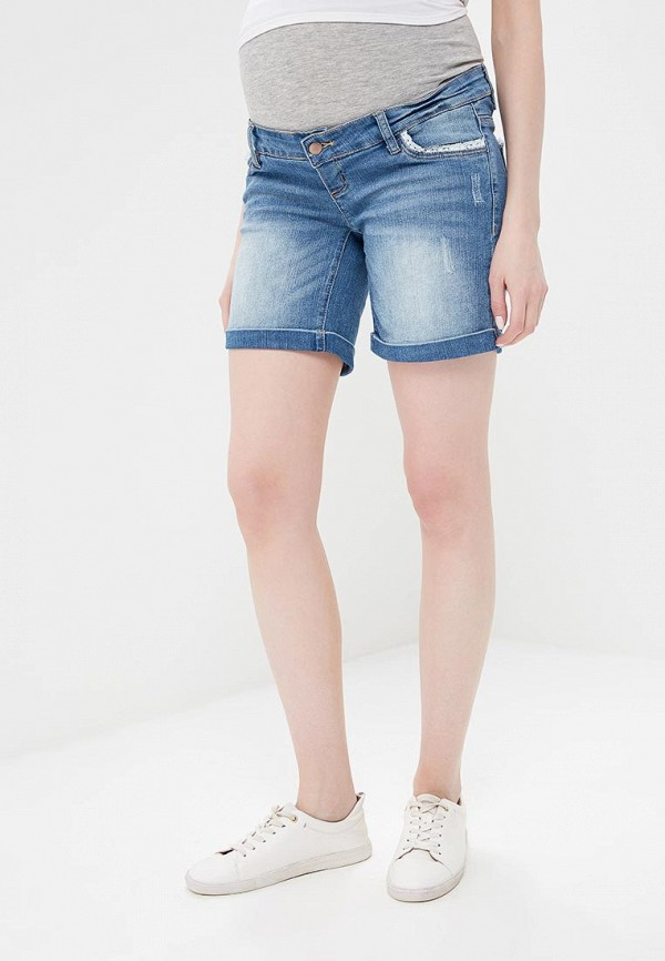 Купить Шорты джинсовые Mamalicious, ma101ewando8, синий, Весна-лето 2018